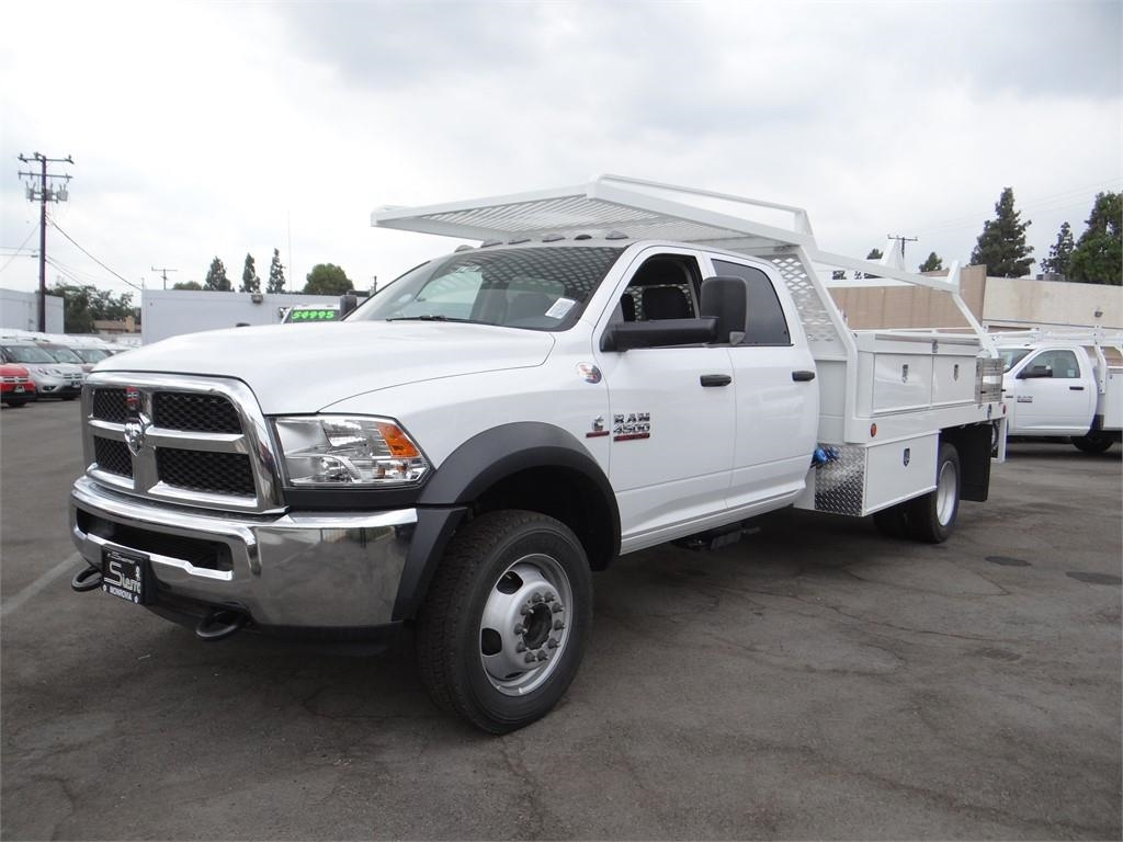2018 Ram 4500 Crew Cab DRW 4x2,  Contractor Body #R1685T - photo 7