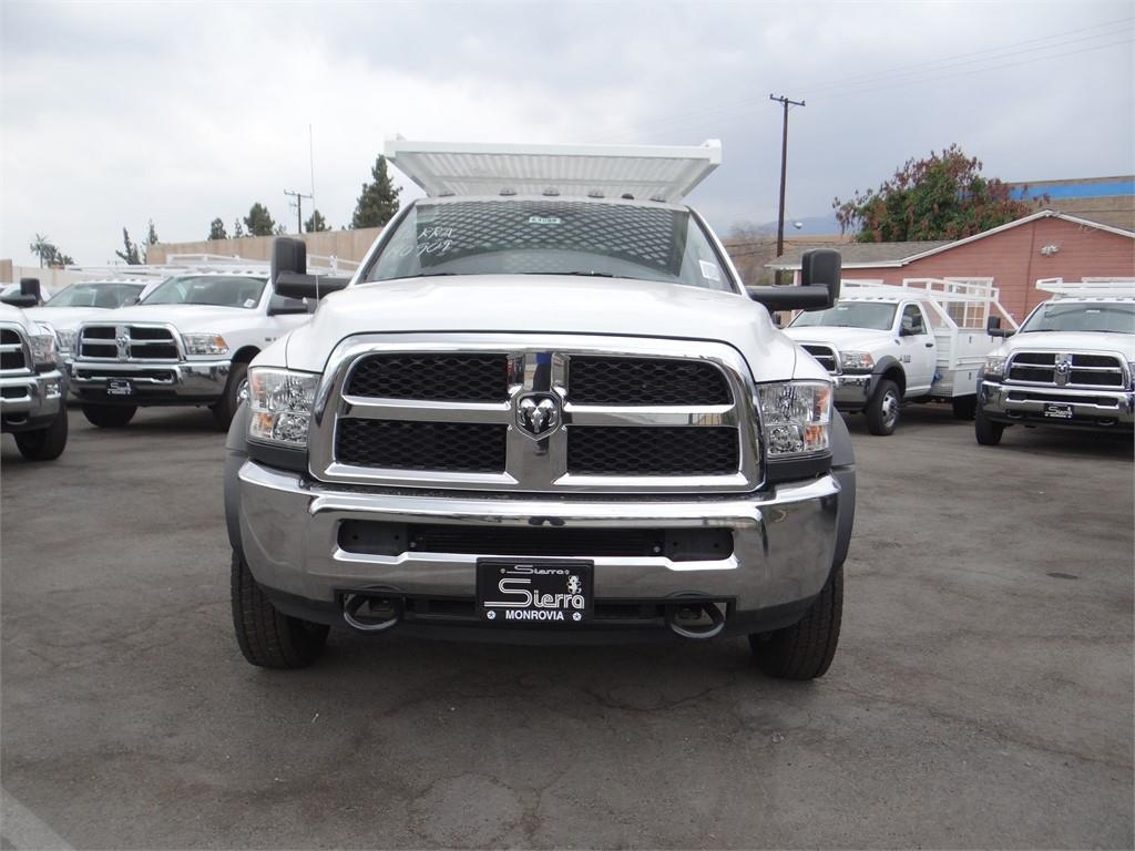 2018 Ram 4500 Crew Cab DRW 4x2,  Contractor Body #R1685T - photo 8
