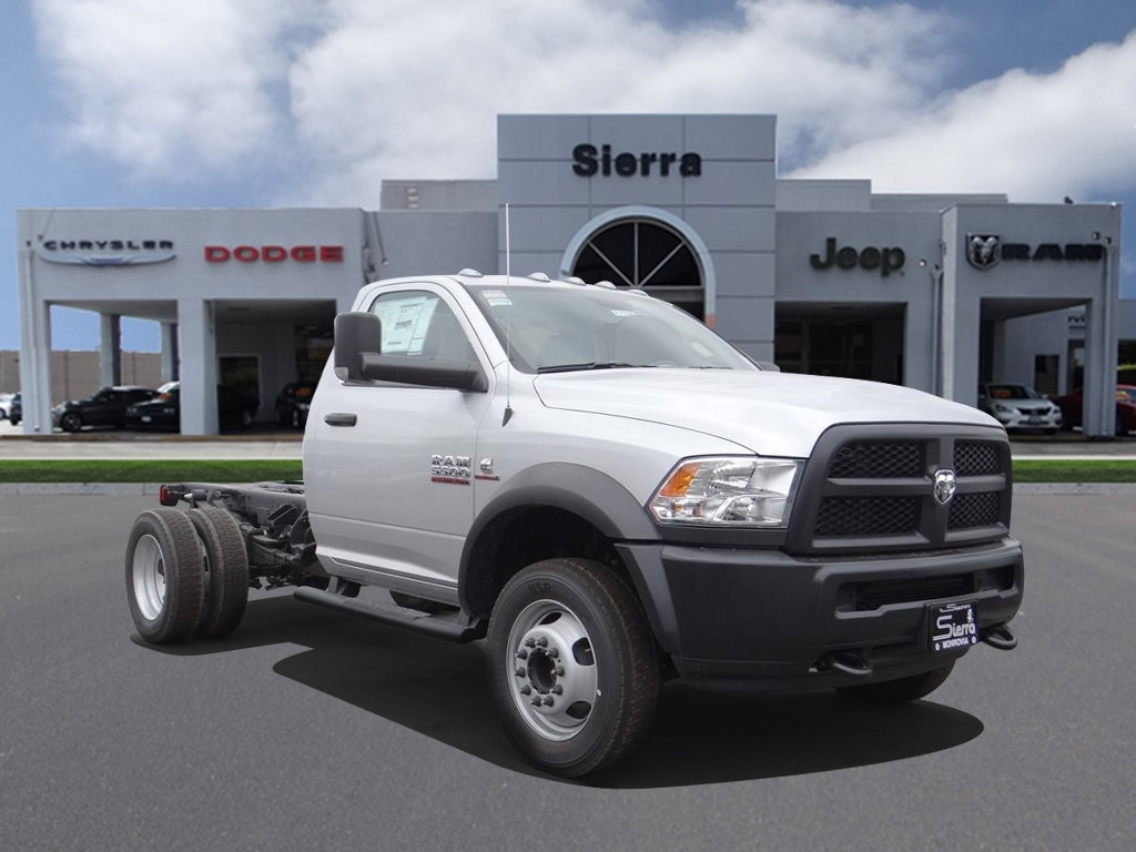 2018 Ram 5500 Regular Cab DRW 4x2,  Cab Chassis #R1754T - photo 1