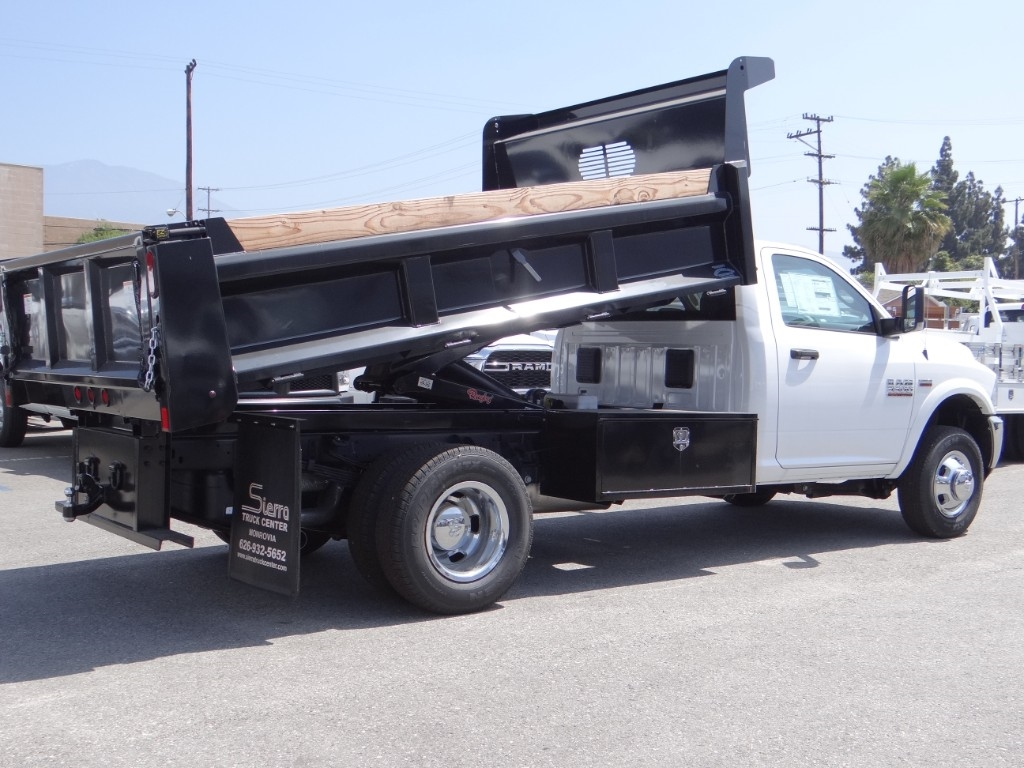 2018 Ram 3500 Regular Cab DRW 4x2,  Rugby Dump Body #R1794T - photo 1