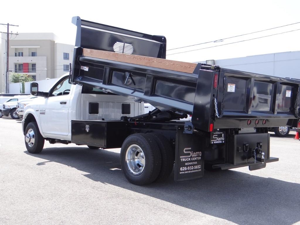 2018 Ram 3500 Regular Cab DRW 4x2,  Rugby Eliminator LP Steel Dump Body #R1794T - photo 3