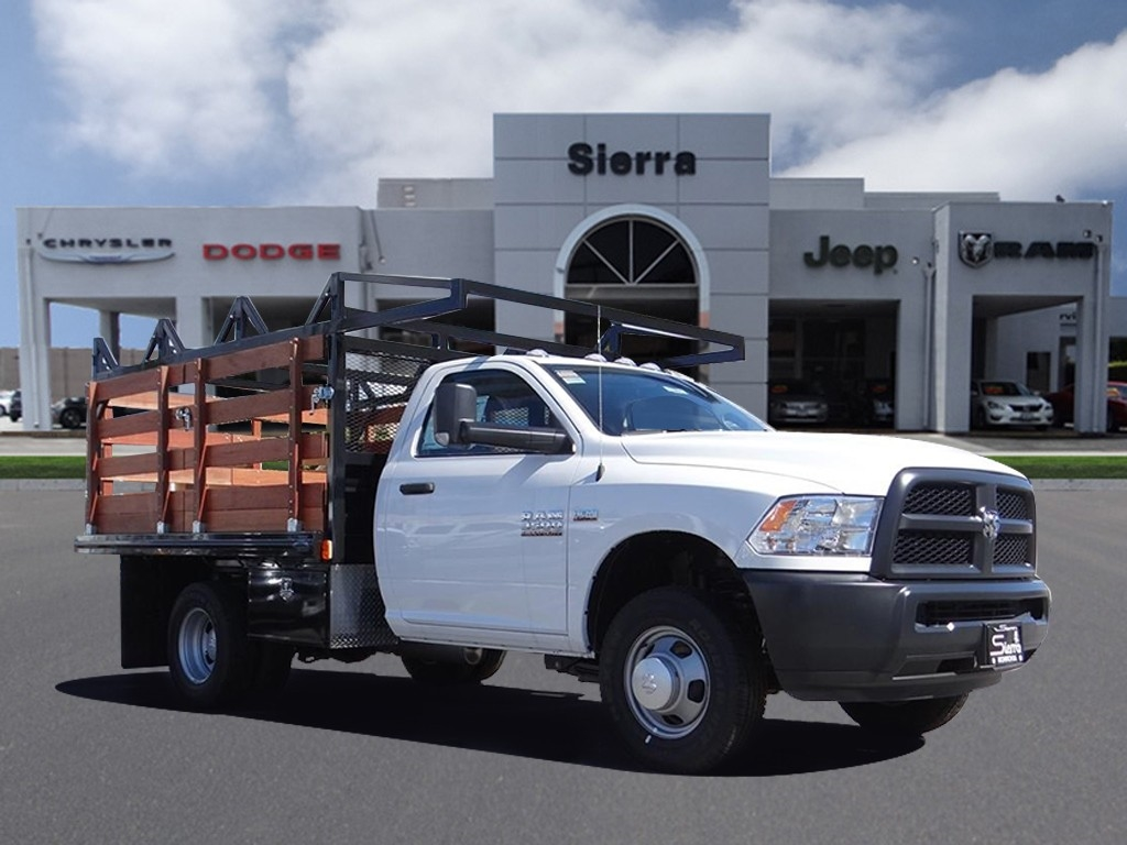 2018 Ram 3500 Regular Cab DRW 4x2,  Stake Bed #R1801T - photo 1