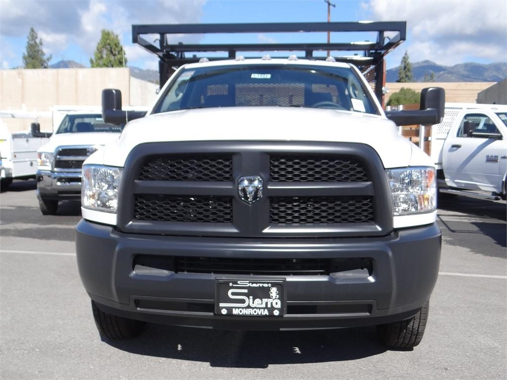 2018 Ram 3500 Regular Cab DRW 4x2,  Martin's Quality Truck Body Stake Bed #R1801T - photo 6
