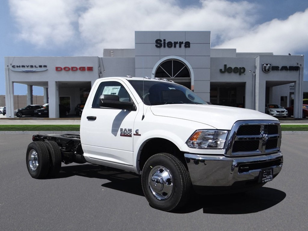 2018 Ram 3500 Regular Cab DRW 4x2,  Cab Chassis #R1805T - photo 1