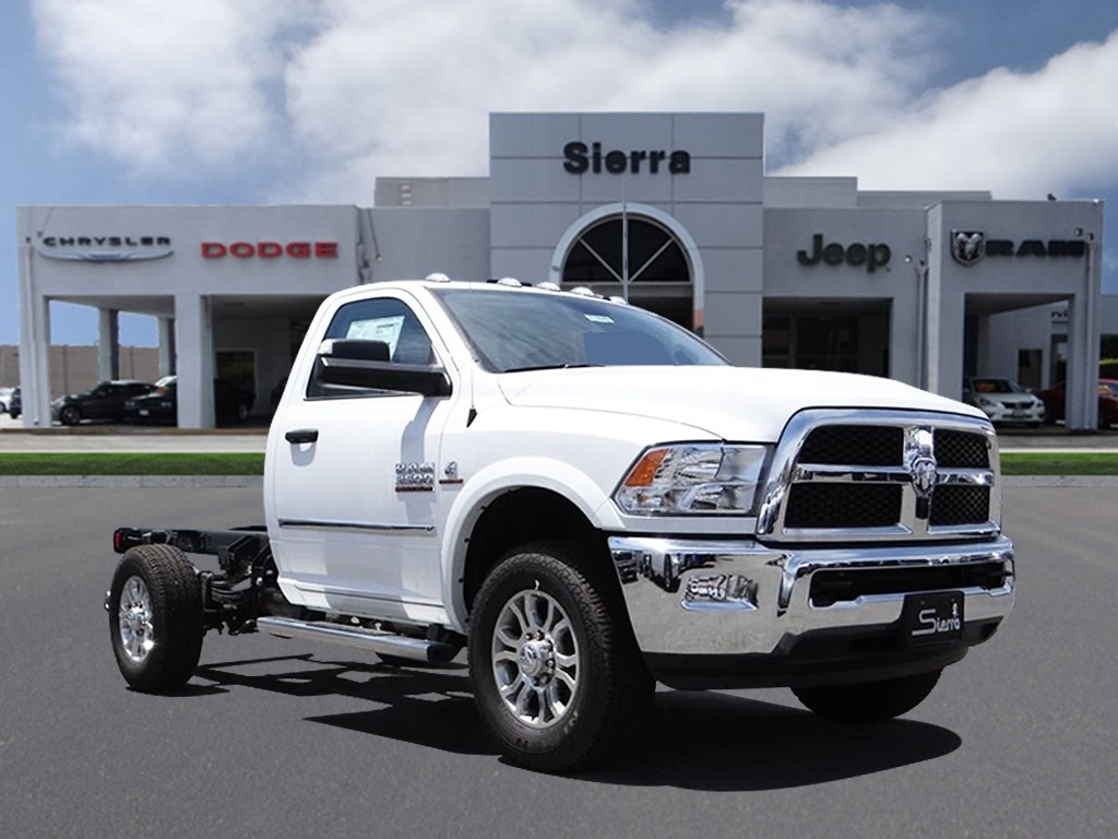 2018 Ram 3500 Regular Cab 4x2,  Cab Chassis #R1820T - photo 1