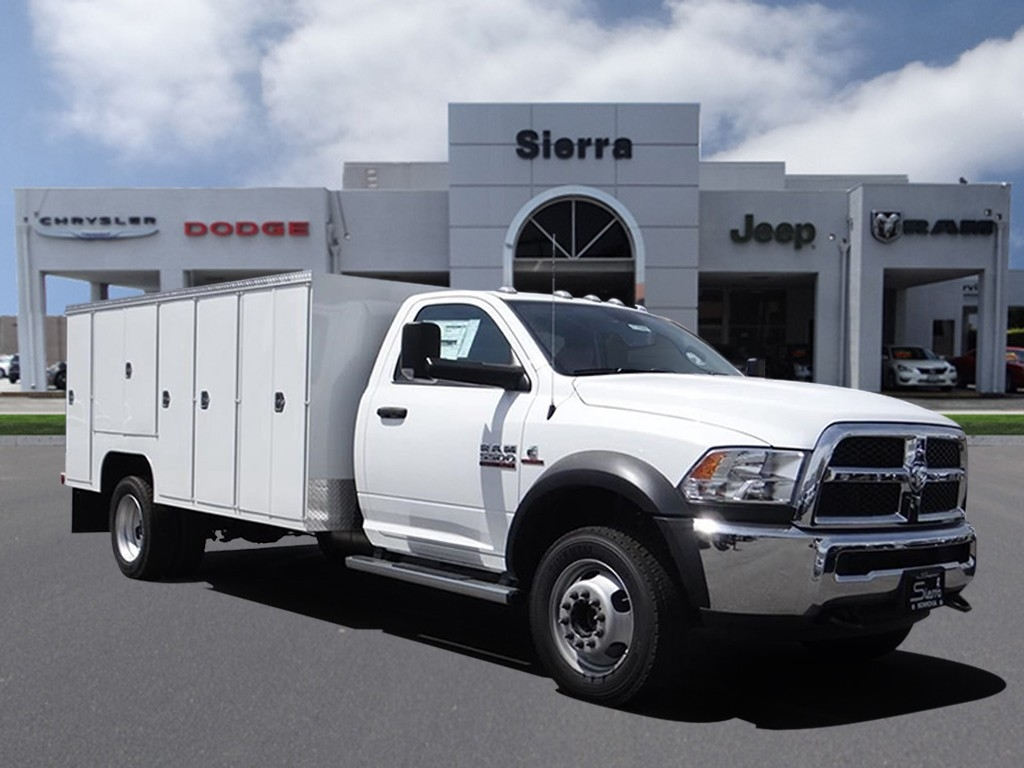 2018 Ram 5500 Regular Cab DRW 4x2,  Scelzi Service Body #R1828 - photo 1