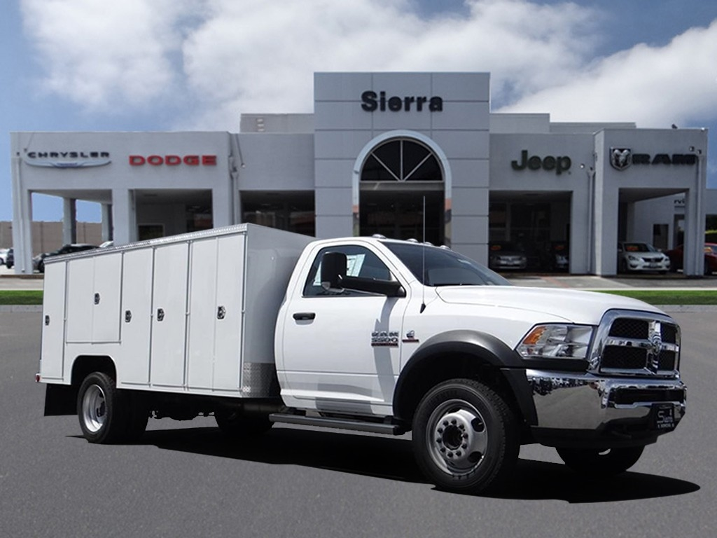 2018 Ram 5500 Regular Cab DRW 4x2,  Scelzi Service Body #R1829T - photo 1