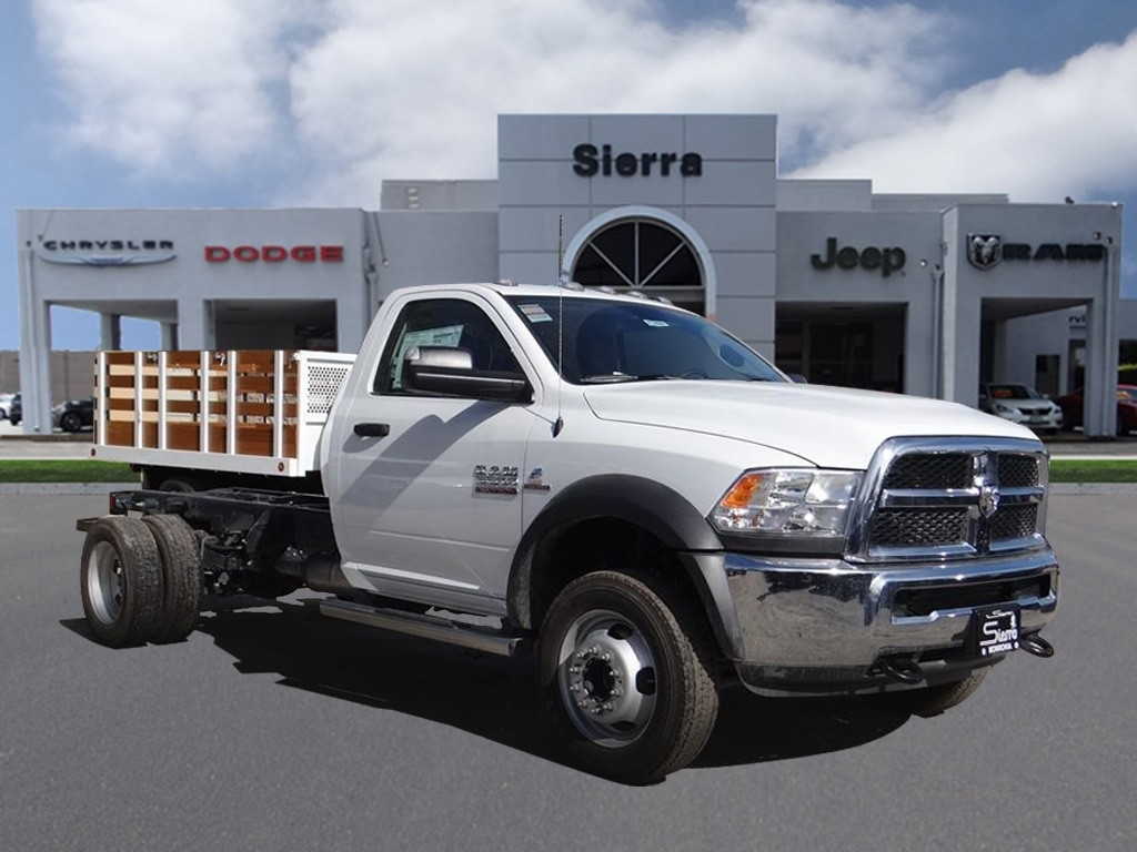 2018 Ram 5500 Regular Cab DRW 4x2,  Cab Chassis #R1832T - photo 1