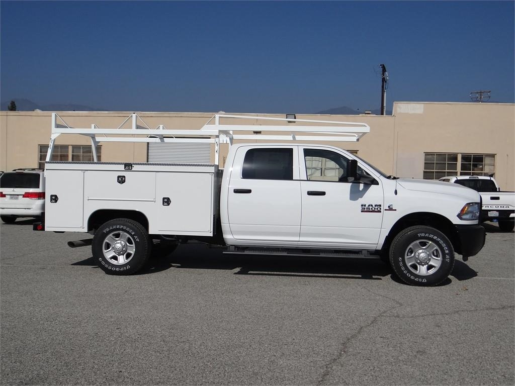 2018 Ram 3500 Crew Cab 4x4,  Scelzi Service Body #R1853T - photo 3