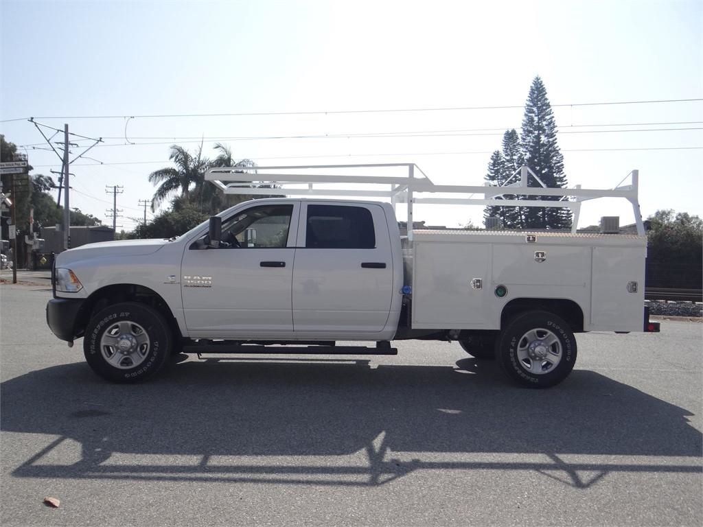 2018 Ram 3500 Crew Cab 4x4,  Scelzi Service Body #R1853T - photo 6