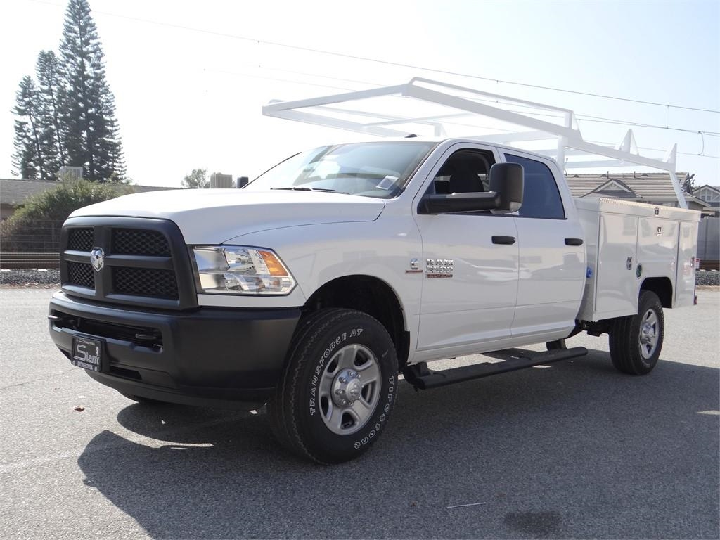2018 Ram 3500 Crew Cab 4x4,  Scelzi Service Body #R1853T - photo 7