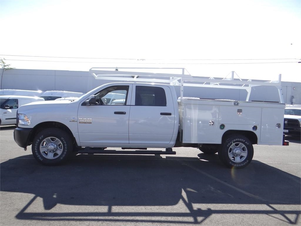2018 Ram 3500 Crew Cab 4x2,  Scelzi Service Body #R1857T - photo 6