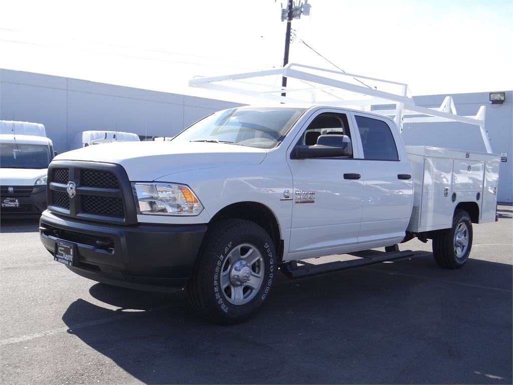 2018 Ram 3500 Crew Cab 4x2,  Scelzi Service Body #R1857T - photo 7