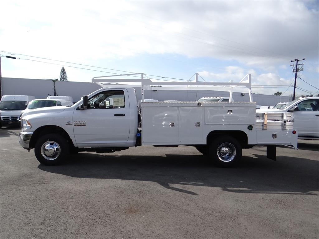 2018 Ram 3500 Regular Cab DRW 4x2,  Scelzi Combo Body #R1879T - photo 6