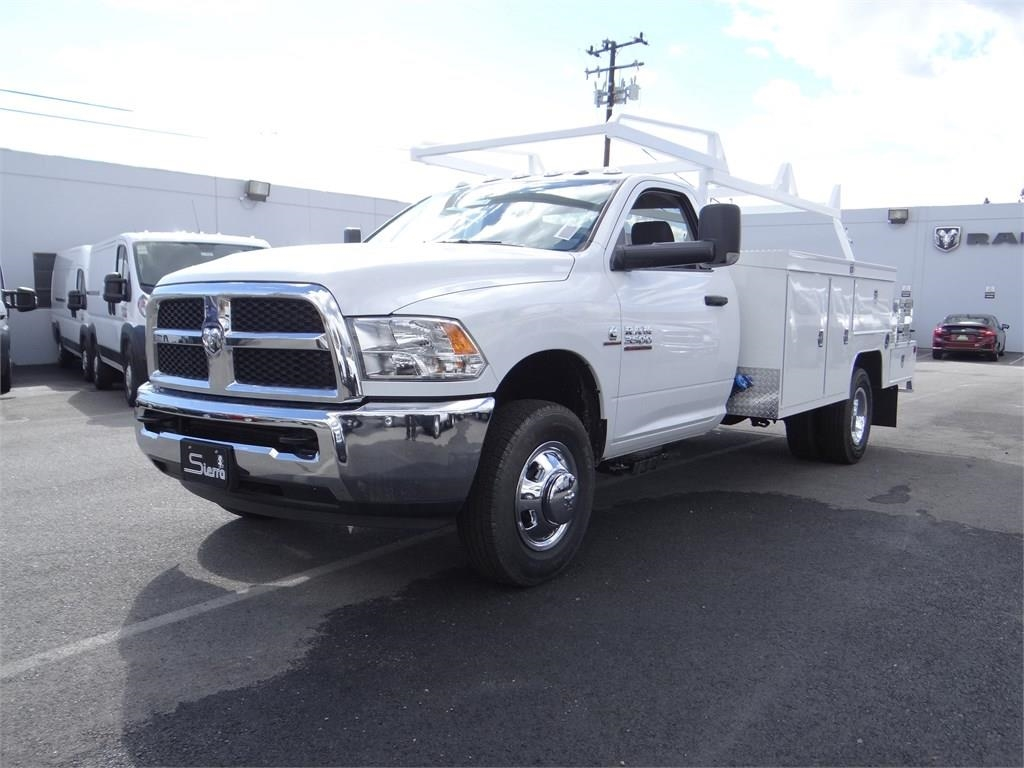 2018 Ram 3500 Regular Cab DRW 4x2,  Scelzi Combo Body #R1893T - photo 7