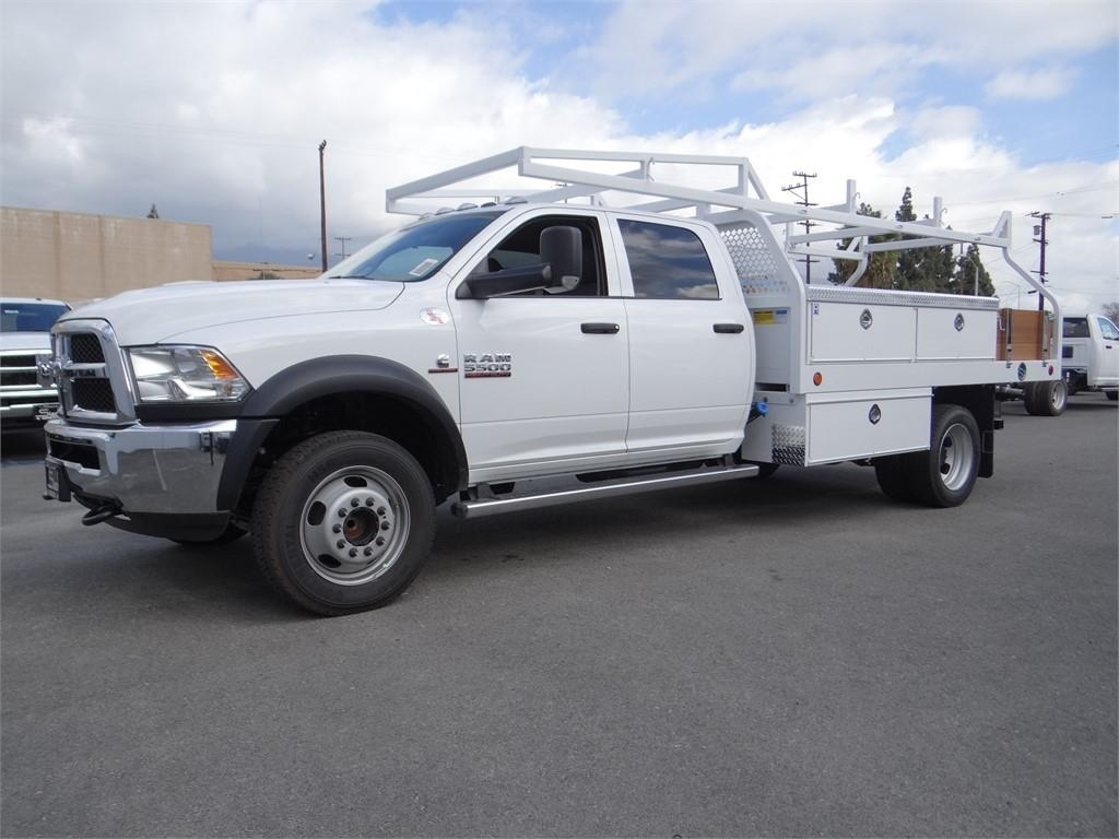 2018 Ram 5500 Crew Cab DRW 4x2,  Contractor Body #R1915T - photo 6