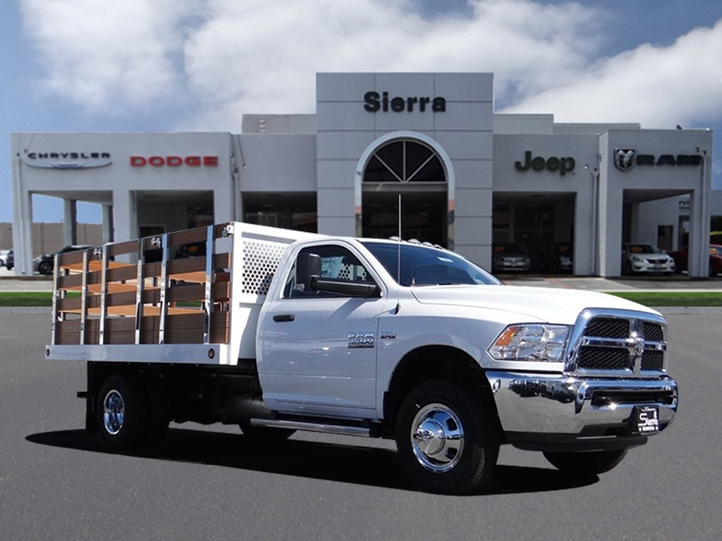 2018 Ram 3500 Regular Cab DRW 4x2,  Royal Stake Bed #R1942T - photo 1
