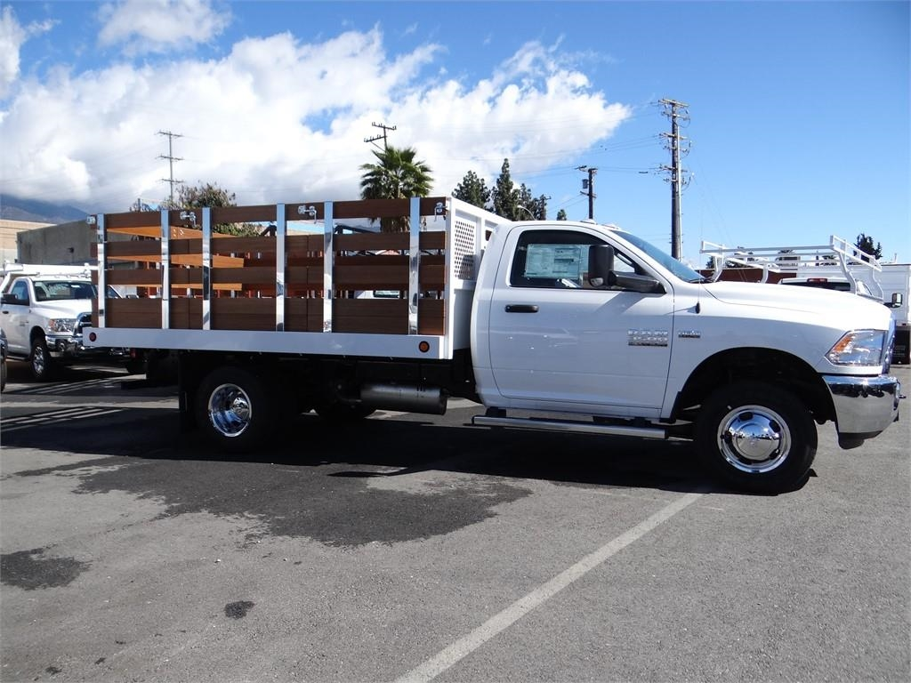 2018 Ram 3500 Regular Cab DRW 4x2,  Royal Stake Bed #R1942T - photo 3