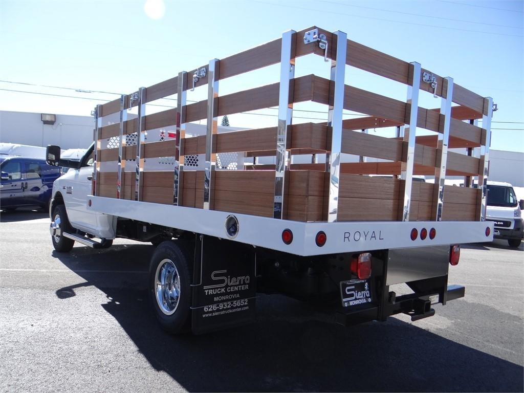 2018 Ram 3500 Regular Cab DRW 4x2,  Royal Stake Bed #R1942T - photo 5