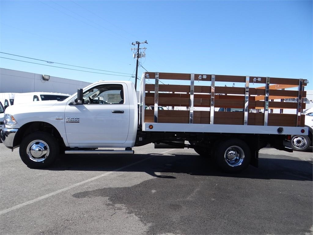 2018 Ram 3500 Regular Cab DRW 4x2,  Royal Stake Bed #R1942T - photo 6