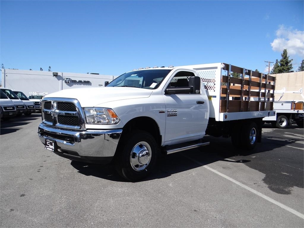 2018 Ram 3500 Regular Cab DRW 4x2,  Royal Stake Bed #R1942T - photo 7