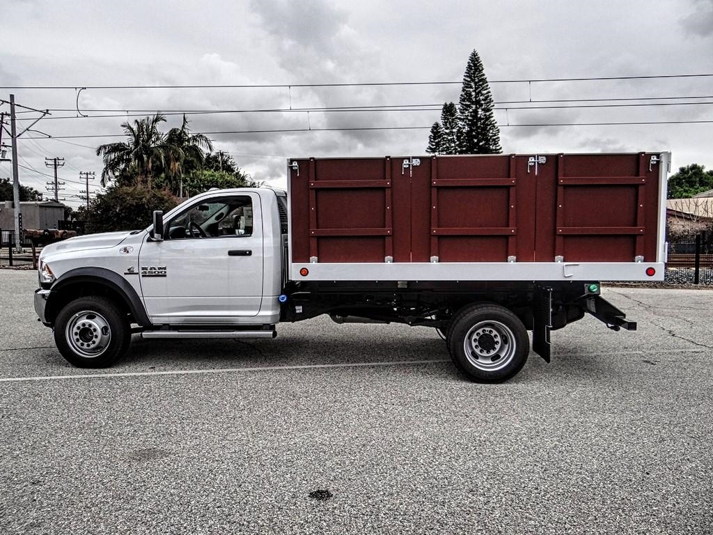 2018 Ram 4500 Regular Cab DRW 4x2,  Royal Landscape Dump #R1958T - photo 6