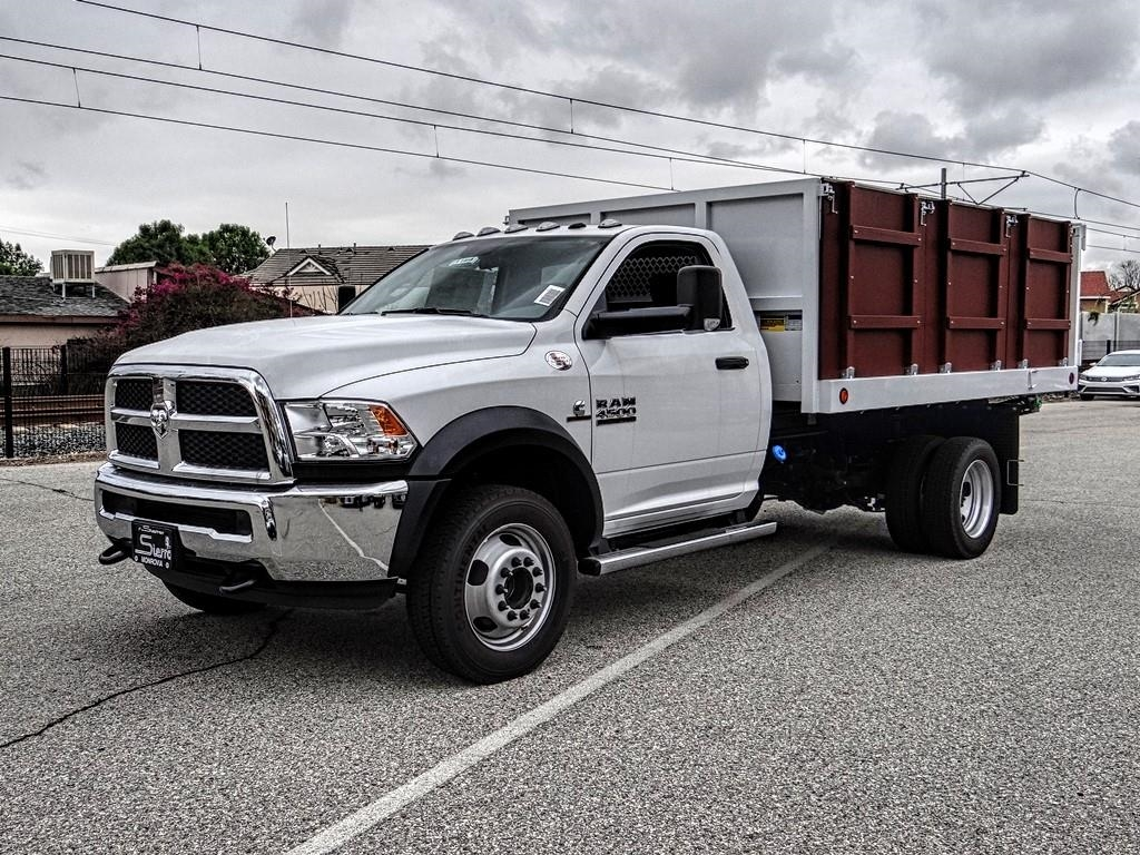 2018 Ram 4500 Regular Cab DRW 4x2,  Royal Landscape Dump #R1958T - photo 7