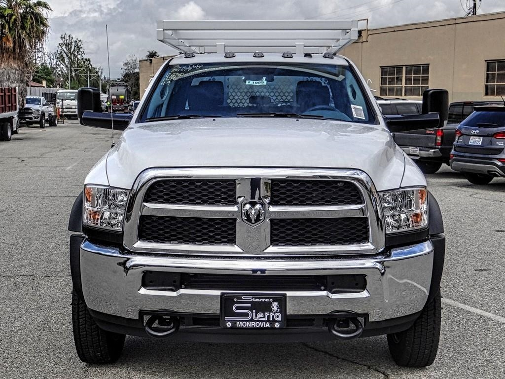 2018 Ram 4500 Crew Cab DRW 4x2,  Royal Contractor Body #R1965T - photo 8