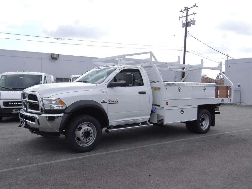 2018 Ram 4500 Regular Cab DRW 4x2,  Royal Contractor Body #R1966T - photo 4