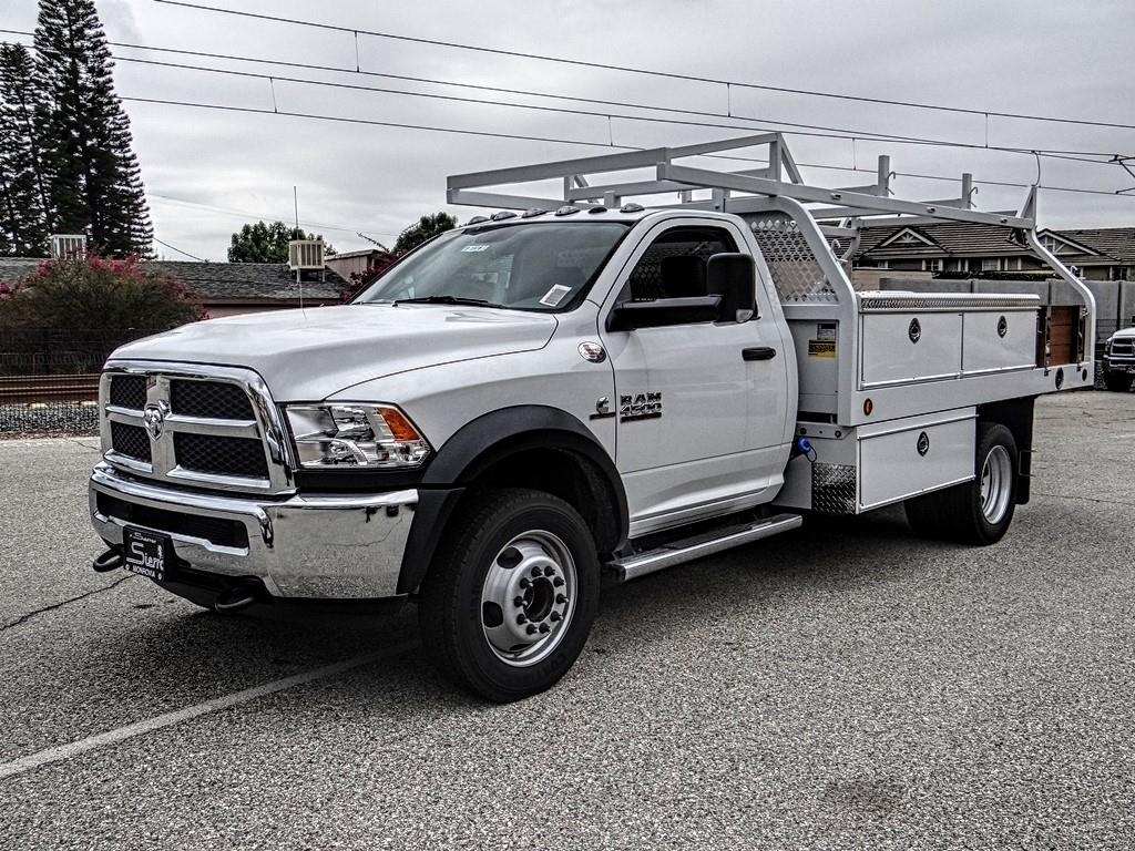 2018 Ram 4500 Regular Cab DRW 4x2,  Royal Contractor Body #R1975T - photo 7