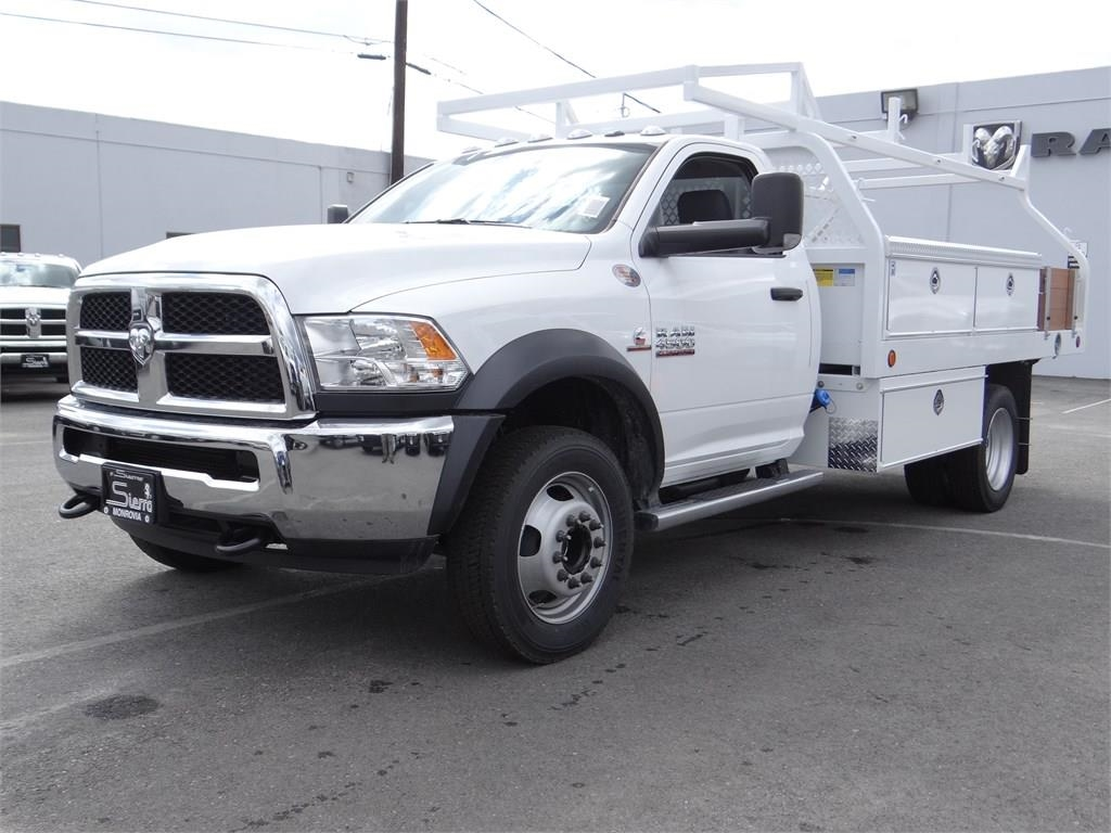 2018 Ram 4500 Regular Cab DRW 4x2,  Royal Contractor Body #R1976T - photo 7