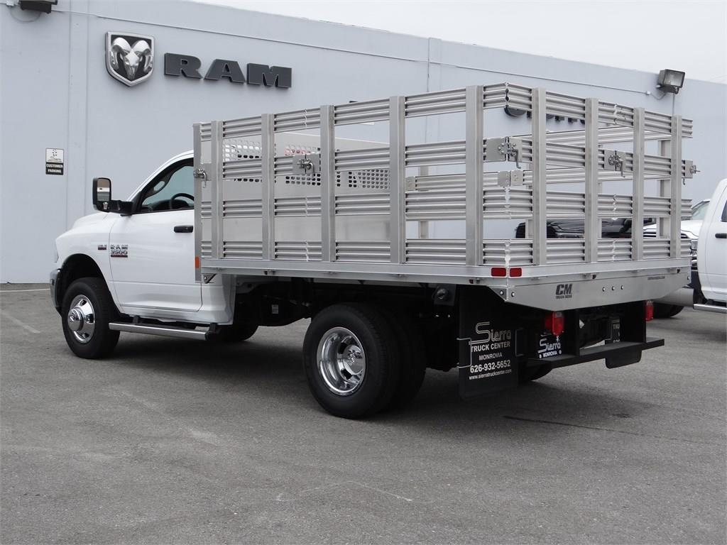 2018 Ram 3500 Regular Cab DRW 4x2,  CM Truck Beds Stake Bed #R2007T - photo 3