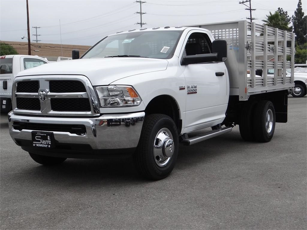 2018 Ram 3500 Regular Cab DRW 4x2,  CM Truck Beds Stake Bed #R2007T - photo 4