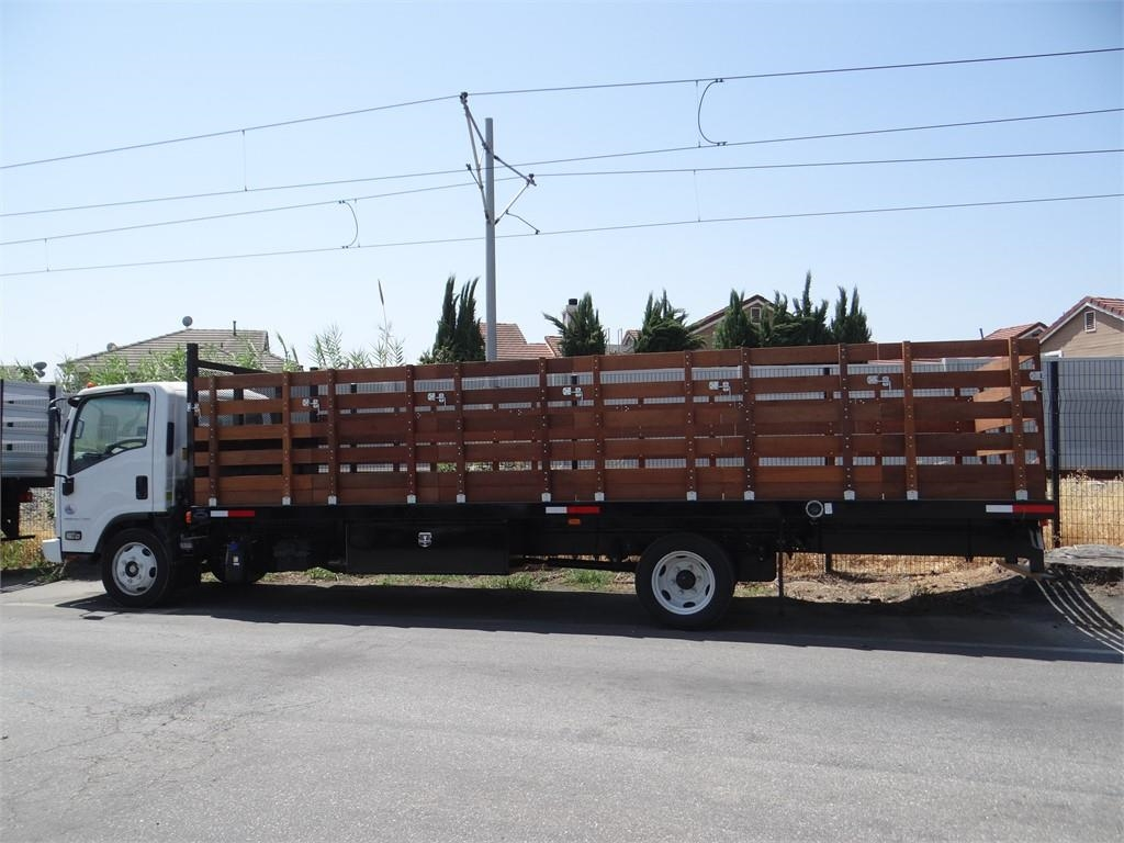2018 LCF 5500XD Regular Cab,  Martin Truck Bodies Stake Bed #C156765 - photo 3