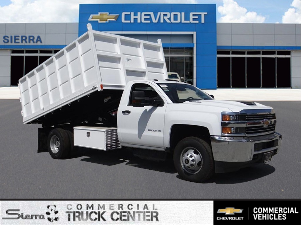 2018 Silverado 3500 Regular Cab 4x2,  Martin's Quality Truck Body Landscape Dump #C156870 - photo 1