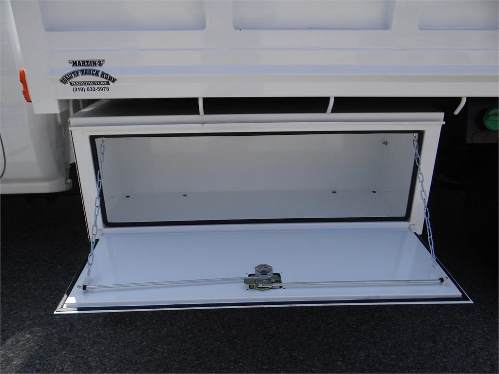 2018 Silverado 3500 Regular Cab 4x2,  Martin's Quality Truck Body Landscape Dump #C156870 - photo 15