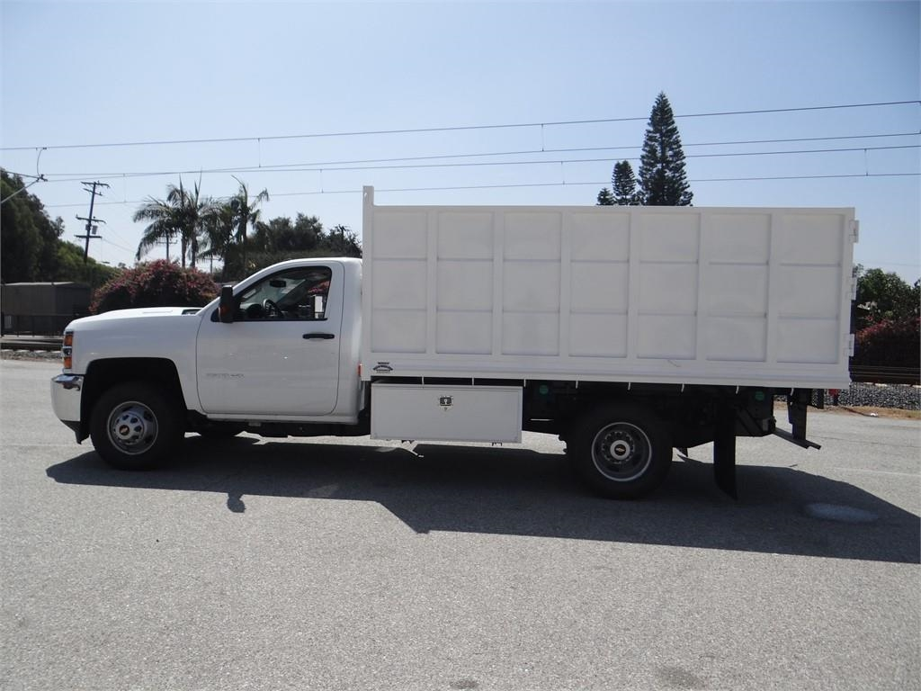 2018 Silverado 3500 Regular Cab 4x2,  Martin's Quality Truck Body Landscape Dump #C156870 - photo 5