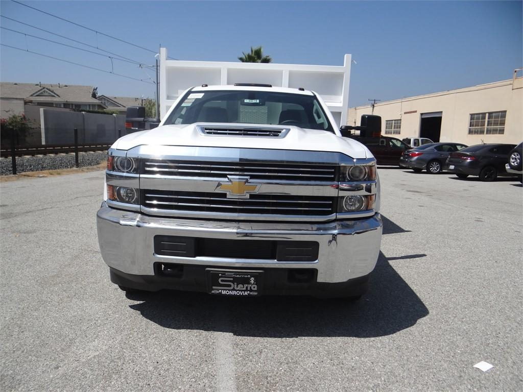 2018 Silverado 3500 Regular Cab 4x2,  Martin's Quality Truck Body Landscape Dump #C156870 - photo 7