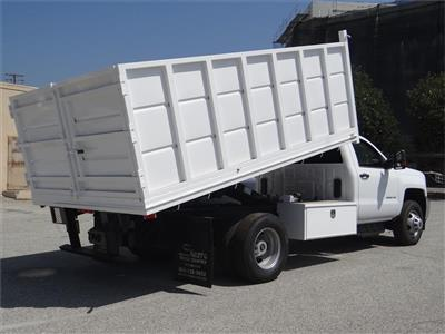 2018 Silverado 3500 Regular Cab 4x2,  Martin's Quality Truck Body Landscape Dump #C156870 - photo 2