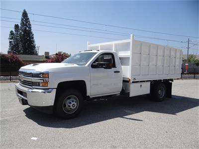 2018 Silverado 3500 Regular Cab 4x2,  Martin's Quality Truck Body Landscape Dump #C156870 - photo 6