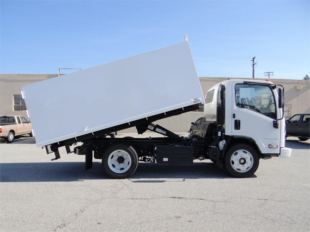 2018 LCF 5500XD Regular Cab 4x2,  Martin's Quality Truck Body Landscape Dump #C157093 - photo 3