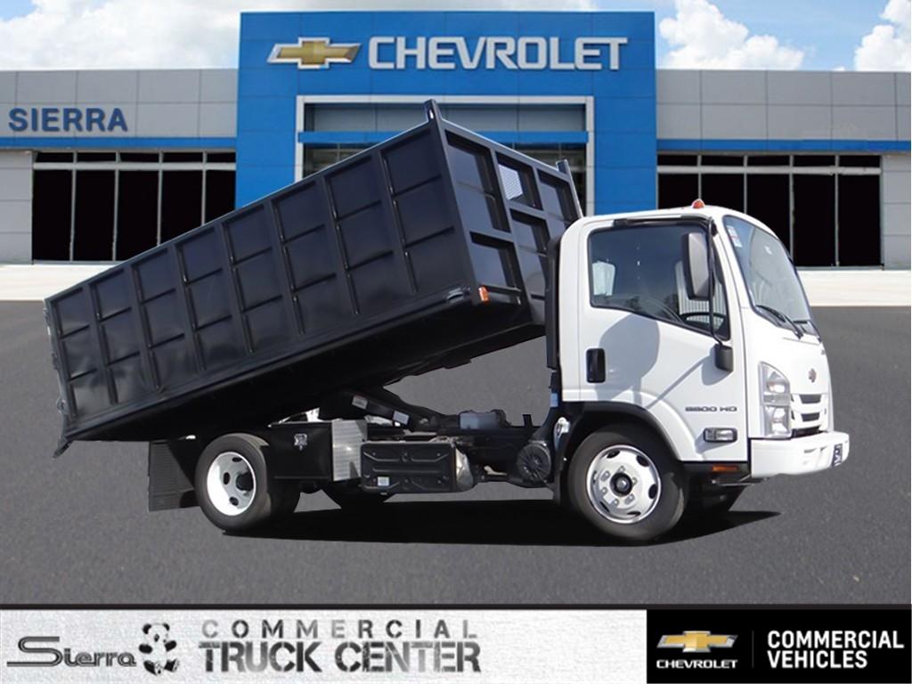 2018 LCF 5500HD Regular Cab 4x2,  Martin's Quality Truck Body Landscape Dump #C157094 - photo 1