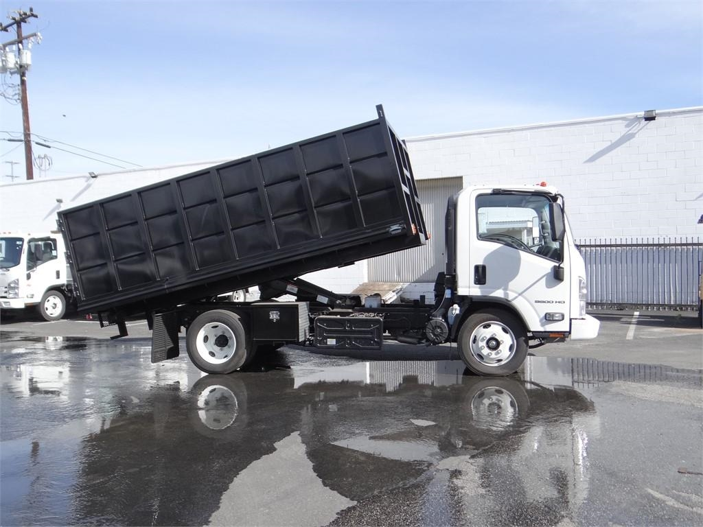 2018 LCF 5500HD Regular Cab 4x2,  Martin's Quality Truck Body Landscape Dump #C157094 - photo 3