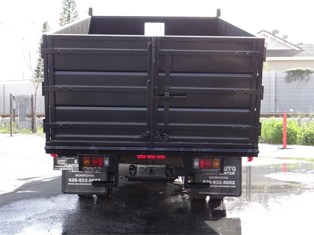 2018 LCF 5500HD Regular Cab 4x2,  Martin's Quality Truck Body Landscape Dump #C157094 - photo 4
