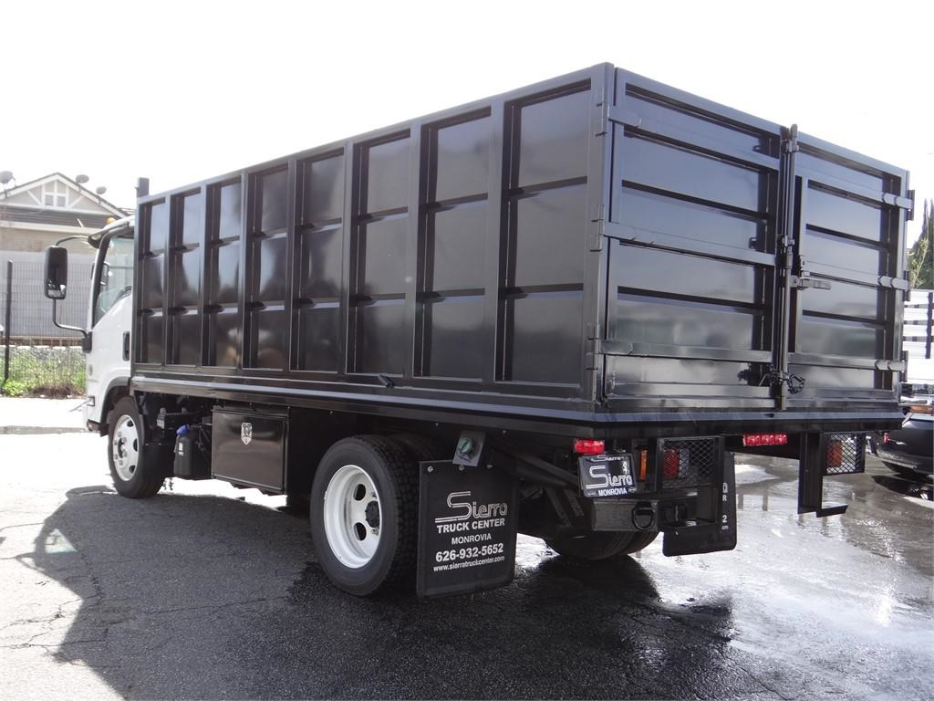 2018 LCF 5500HD Regular Cab 4x2,  Martin's Quality Truck Body Landscape Dump #C157094 - photo 2