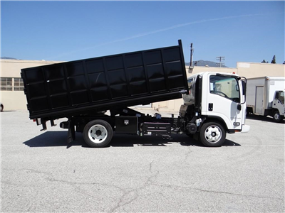2018 LCF 5500HD Regular Cab,  Martin's Quality Truck Body Landscape Dump #C157094 - photo 3