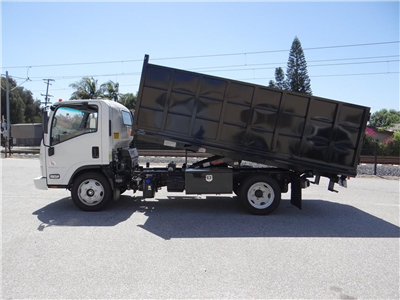 2018 LCF 5500HD Regular Cab,  Martin's Quality Truck Body Landscape Dump #C157094 - photo 6