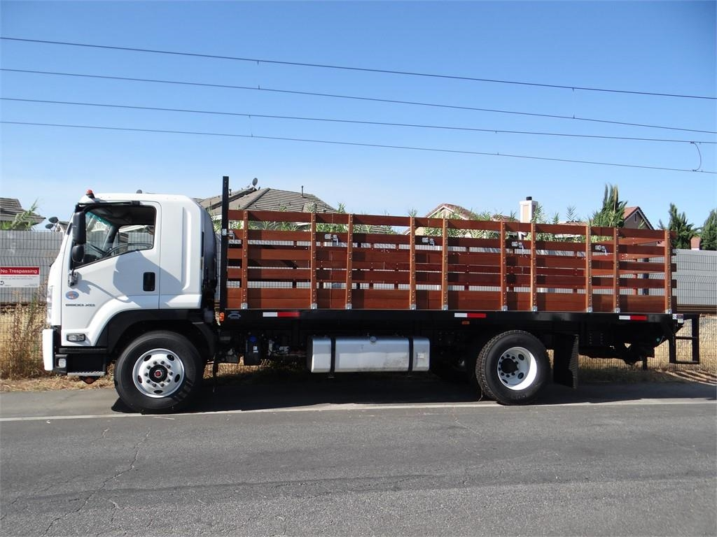2018 LCF 6500XD Regular Cab,  Martin's Quality Truck Body Stake Bed #C157265 - photo 3