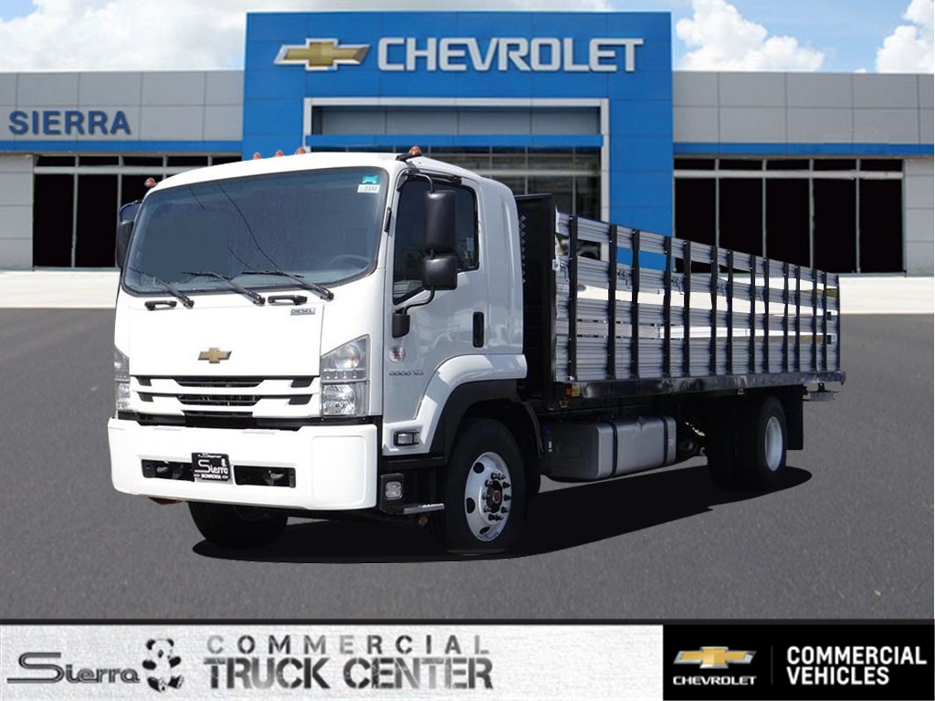 2018 LCF 6500XD Regular Cab 4x2,  Metro Truck Body Stake Bed #C157348 - photo 1