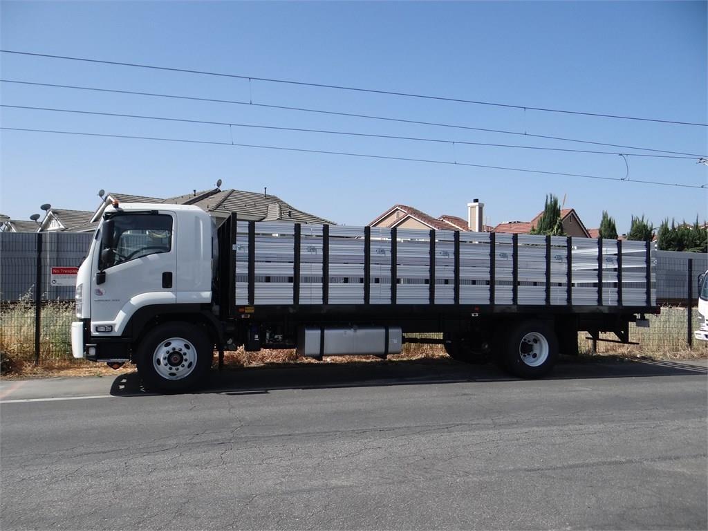2018 LCF 6500XD Regular Cab 4x2,  Metro Truck Body Stake Bed #C157348 - photo 3